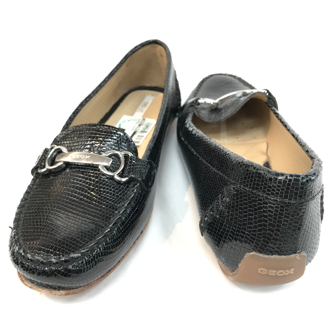 Photo #1 - BRAND: GEOX SHOES <BR>STYLE: SHOES FLATS <BR>COLOR: BLACK <BR>SIZE: 6.5 <BR>SKU: 262-26275-55420<BR>AS IS