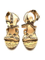 Primary Photo - BRAND: VIA SPIGA <BR>STYLE: SANDALS LOW <BR>COLOR: SNAKESKIN PRINT <BR>SIZE: 8.5 <BR>SKU: 262-26275-61560<BR>AS IS