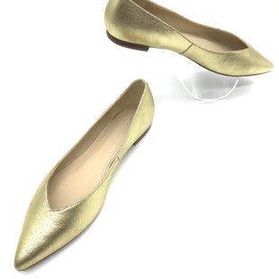 Primary Photo - BRAND: MARC FISHER STYLE: SHOES FLATS COLOR: GOLD SIZE: 9.5 SKU: 262-26241-44457