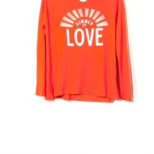 Primary Photo - BRAND: SUNDRY STYLE: TOP LONG SLEEVE COLOR: ORANGESIZE: S /M 3SKU: 262-26275-73409