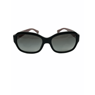 Primary Photo - BRAND: COACHSTYLE: SUNGLASSES COLOR: MONOGRAM BLACK PINKSKU: 262-26211-145629GENTLE SCRATCHES AS IS