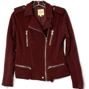 Primary Photo - BRAND: CHASER STYLE: TOP LONG SLEEVECOLOR: MAROON SIZE: XS SKU: 262-26275-69805GENTLEST FADE AS IS