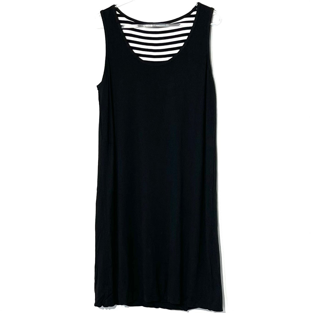 Photo #2 - BRAND: SOMA <BR>STYLE: DRESS SHORT SLEEVELESS <BR>COLOR: STRIPED <BR>SIZE: M <BR>SKU: 262-26211-141858<BR>5% SPANDEX <BR>REVERSIBLE SEE PHOTO