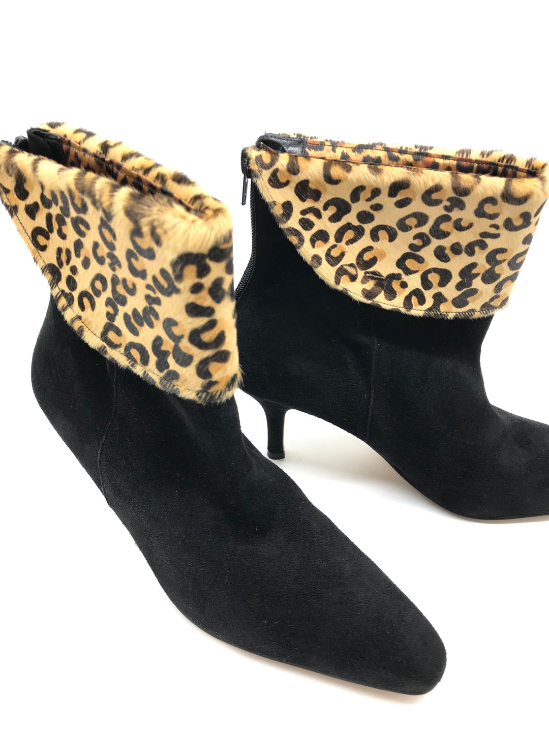 Photo #3 - BRAND:  DEZARIO<BR>STYLE: BOOTS ANKLE <BR>COLOR: BLACK <BR>SIZE: 8 <BR>SKU: 262-26211-139805<BR>GENTLE WEAR ON CORNERS - AS IS