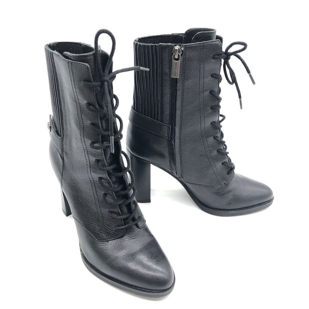 Photo #3 - BRAND: MICHAEL KORS <BR>STYLE: BOOTS ANKLE <BR>COLOR: BLACK <BR>SIZE: 7 <BR>SKU: 262-262101-2051<BR>IN GOOD SHAPE AND CONDITION