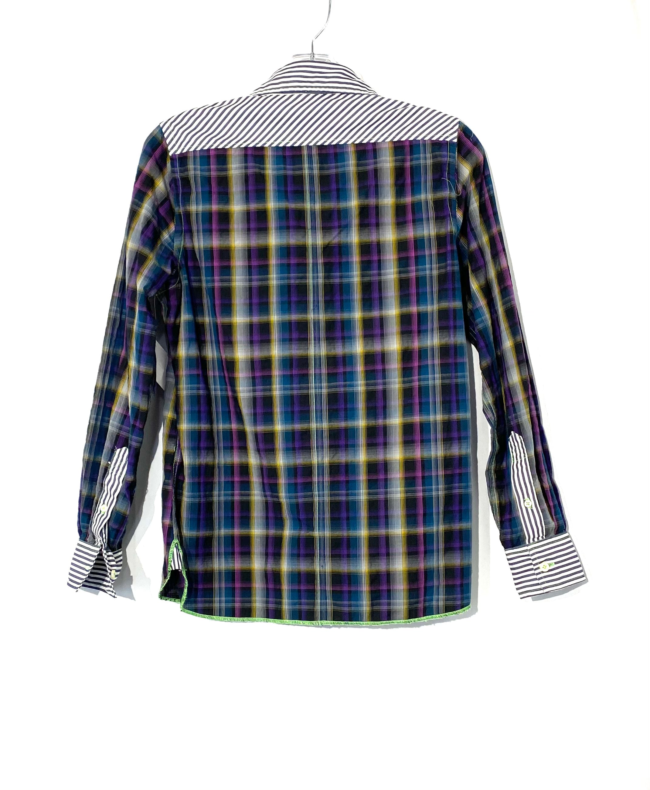 Photo #1 - BRAND:    ARNOLD ZIMBERG<BR>STYLE: TOP LONG SLEEVE <BR>COLOR: PLAID <BR>SIZE: S <BR>OTHER INFO: ARNOLD ZIMBERG  - <BR>SKU: 262-26275-72087