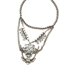 Primary Photo - BRAND:    SUGARFIXSTYLE: NECKLACE COLOR: SILVER SKU: 262-26275-62992AS IS