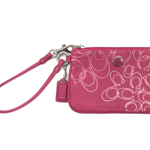 Primary Photo - BRAND: COACHSTYLE: COIN PURSE COLOR: PINK SIZE: MEDIUMSKU: 262-26241-41615GENTLE WEAR AS IS DESIGNER BRAND - FINAL SALE