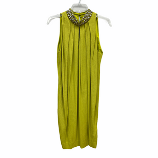 Primary Photo - BRAND: ETCETRA STYLE: DRESS SHORT SLEEVELESS COLOR: LIME GREEN SIZE: M SKU: 262-26211-145352