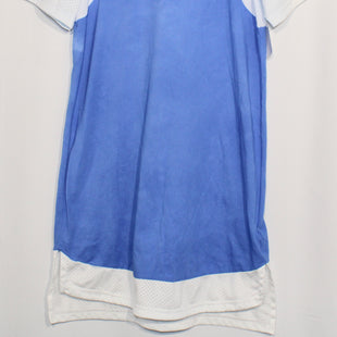 Primary Photo - BRAND: ADIDAS STYLE: ATHLETIC DRESS SHORT SHORT SLEEVE COLOR: BLUE WHITE SIZE: M SKU: 262-26211-139286