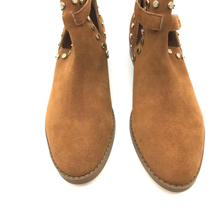 Primary Photo - BRAND: CARLOS SANTANA STYLE: BOOTS ANKLE COLOR: TAN SIZE: 7.5 SKU: 262-26275-55422SLIGHT SCUFFING TO BACK BUT VERY GOOD OVERALL CONDITION