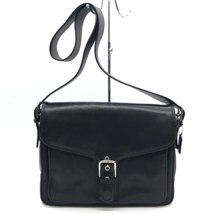 "Primary Photo - BRAND: COACH STYLE: HANDBAG DESIGNER COLOR: BLACK SIZE: 10""H X 13.5""L X 2.3""WSTRAP DROP: 20""SKU: 262-262101-2755SOME GENTLE SCRATCHES • OVERALL IN GOOD SHAPE AND CONDITION •"