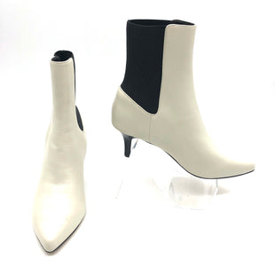 Primary Photo - BRAND: JOIE STYLE: BOOTS ANKLE COLOR: OFF WHITE AND  BLACK SIZE: 5.5 SKU: 262-26275-75414AS IS SLIGHT SCRATCHES