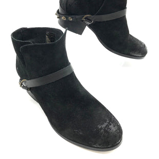 Primary Photo - BRAND:  H HAND CRAFTED STYLE: BOOTS ANKLE COLOR: BLACK SIZE: 8.5 | 39SKU: 262-26241-40055GENTLE WEAR SHOWS - AS IS