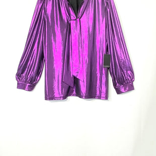 Primary Photo - BRAND: ELOQUII STYLE: BLOUSECOLOR: PURPLE METALLIC SIZE: 1X /18SKU: 262-26275-72948