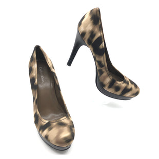 Primary Photo - BRAND: CALVIN KLEIN STYLE: SHOES HIGH HEEL COLOR: ANIMAL PRINT SIZE: 7 SKU: 262-26275-77184IN GREAT SHAPE AND CONDITION