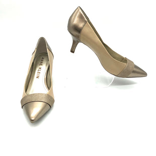 Primary Photo - BRAND: ANNE KLEIN STYLE: SHOES LOW HEEL COLOR: GOLD SIZE: 10 SKU: 262-26275-78148AS IS SLIGHT WEAR IN TOES
