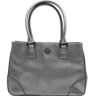 "Primary Photo - BRAND: TORY BURCH STYLE: HANDBAG DESIGNER COLOR: METALLIC SIZE: MEDIUM SKU: 262-26211-143875GENTLEST SPOTS (EXTERIOR) AS IS13.5""LX9""HX4""D"
