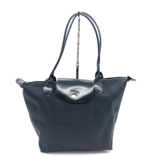 Primary Photo - BRAND: LONGCHAMP STYLE: MODELE DEPOSECOLOR: BLACK SIZE: SMALL SKU: 262-26275-74621WEAR SHOWS • BROKEN ZIPPER • AS IS