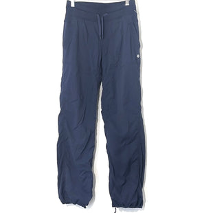 Primary Photo - BRAND: LULULEMON STYLE: ATHLETIC PANTS COLOR: NAVY SIZE: 4 REGSKU: 262-26275-78364DESIGNER FINAL