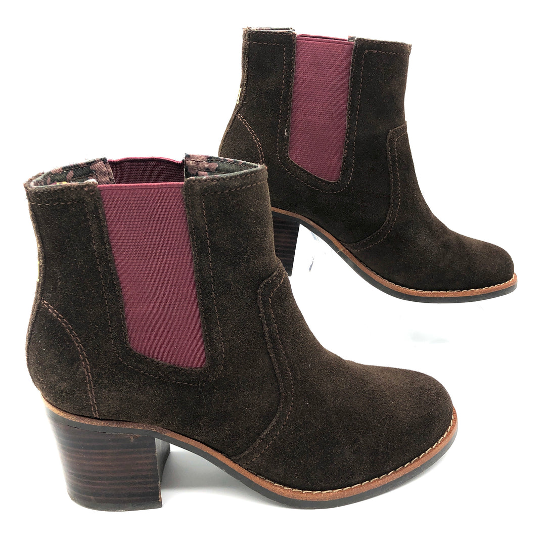 Photo #1 - BRAND: SPERRY <BR>STYLE: BOOTS ANKLE <BR>COLOR: BROWN <BR>SIZE: 7 <BR>SKU: 262-26275-78834