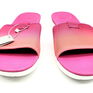 Primary Photo - BRAND: FITFLOP STYLE: SANDALS FLAT COLOR: PINK ORANGE SIZE: 11 SKU: 262-26275-66176AS IS