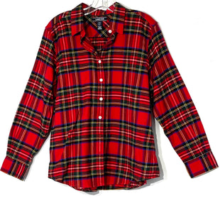 Primary Photo - BRAND: LANDS END STYLE: TOP LONG SLEEVE COLOR: PLAID SIZE: XL /14 PETITESKU: 262-26275-75905