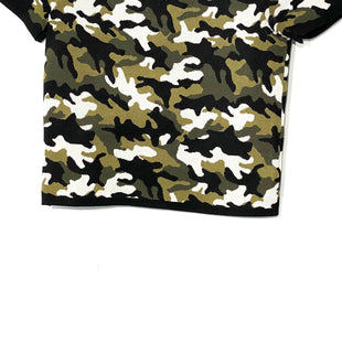 Primary Photo - BRAND: MICHAEL KORS STYLE: TOP SHORT SLEEVE COLOR: CAMOFLAUGE SIZE: XXS SKU: 262-26275-67507PIT TO HEM 10""