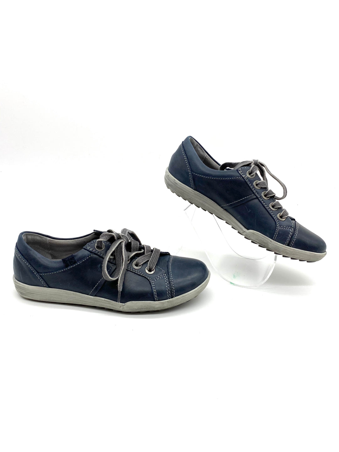 Photo #1 - BRAND: JOSEF SEIBEL <BR>STYLE: SHOES FLATS <BR>COLOR: SLATE BLUE <BR>SIZE: 6 /36<BR>SKU: 262-26241-42774