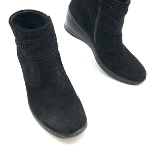 Primary Photo - BRAND: CASUAL SOFT DESIGN STYLE: BOOTS ANKLE COLOR: BLACK SIZE: 8 OTHER INFO: CASUAL SOFT DESIGN - SKU: 262-26275-73080AS IS MARKS (SEE PHOTOS).