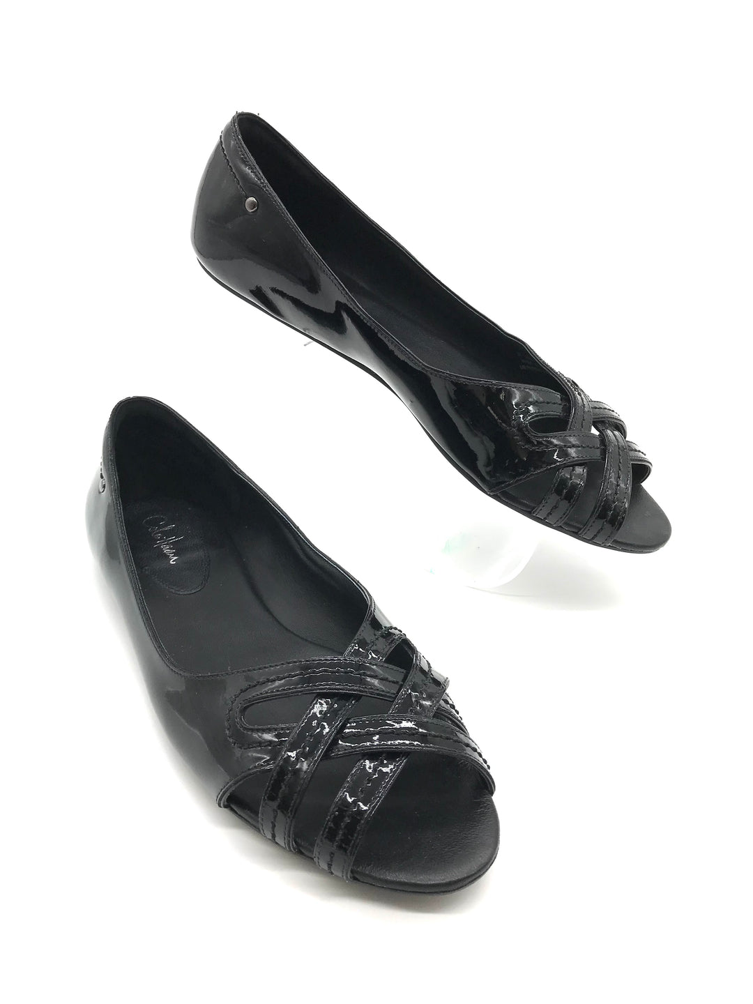 Primary Photo - BRAND: COLE-HAAN <BR>STYLE: SHOES FLATS <BR>COLOR: BLACK <BR>SIZE: 8 <BR>SKU: 262-26275-69105<BR>AS IS