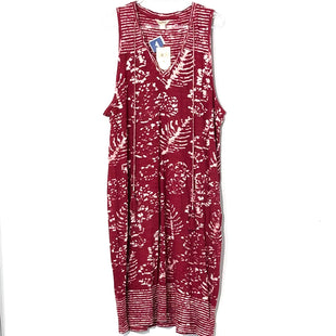 Primary Photo - BRAND: LUCKY BRAND O STYLE: DRESS SHORT SLEEVELESS COLOR: RED WHITE SIZE: XL SKU: 262-26275-64498