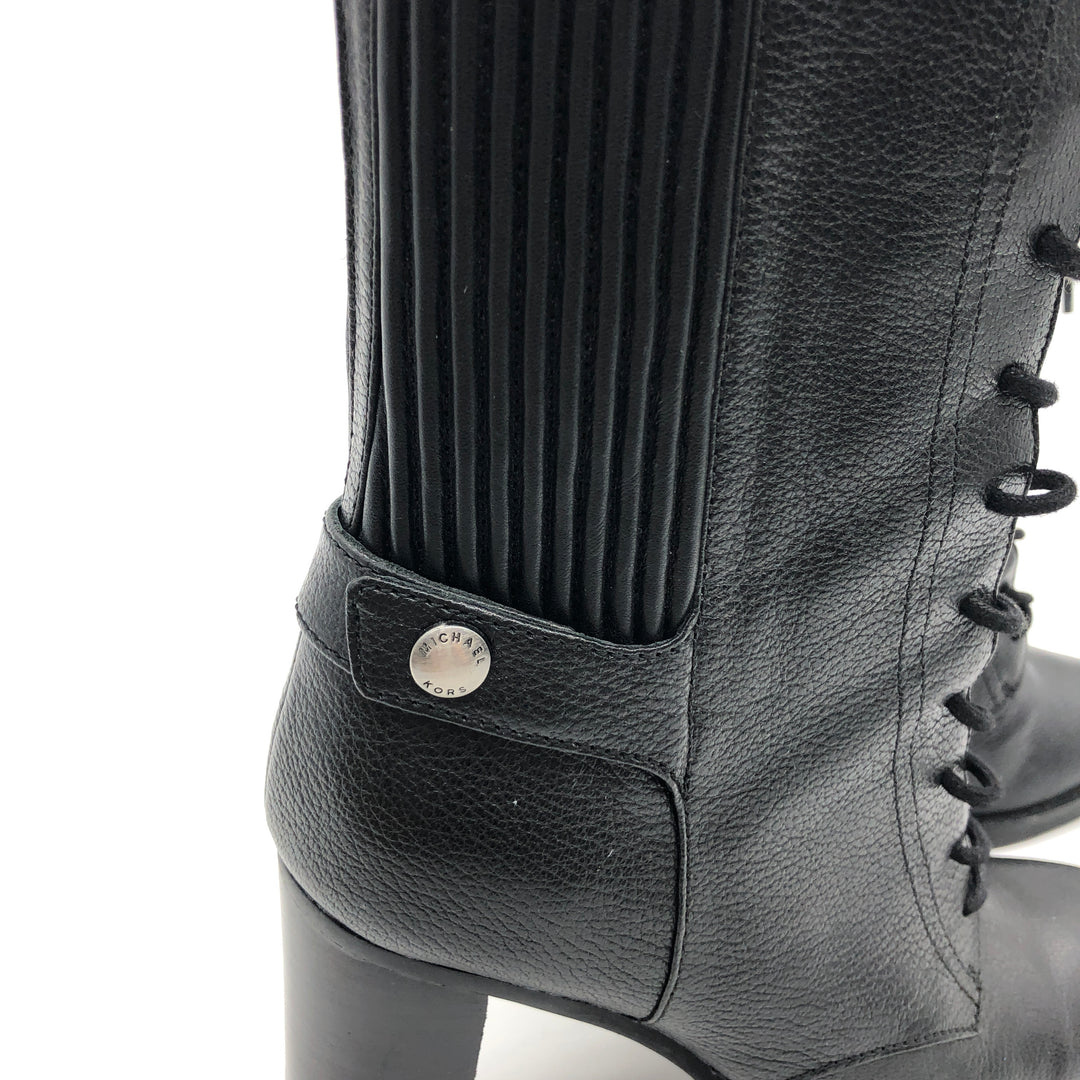 Photo #4 - BRAND: MICHAEL KORS <BR>STYLE: BOOTS ANKLE <BR>COLOR: BLACK <BR>SIZE: 7 <BR>SKU: 262-262101-2051<BR>IN GOOD SHAPE AND CONDITION
