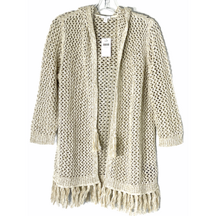 Primary Photo - BRAND: J JILL STYLE: SWEATER CARDIGAN LIGHTWEIGHT COLOR: BEIGE SIZE: M SKU: 262-26241-4798468% COTTON
