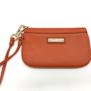 Primary Photo - BRAND: CALVIN KLEIN STYLE: COIN PURSE COLOR: ORANGE SIZE: MEDIUM SKU: 262-26241-40331AS IS