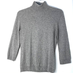 Primary Photo - BRAND: TORY BURCH STYLE: SWEATER CASHMERE COLOR: GREY SIZE: M SKU: 262-26241-47115DESIGNER FINAL 100% CASHMERE