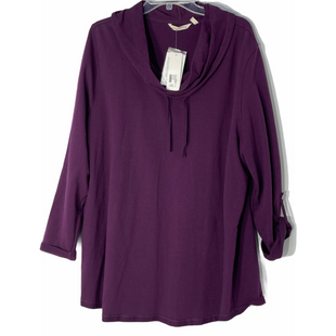 Primary Photo - BRAND: SOFT SURROUNDINGS STYLE: TUNIC TOP LONG SLEEVECOLOR: PURPLE SIZE: 2X SKU: 262-26241-47549
