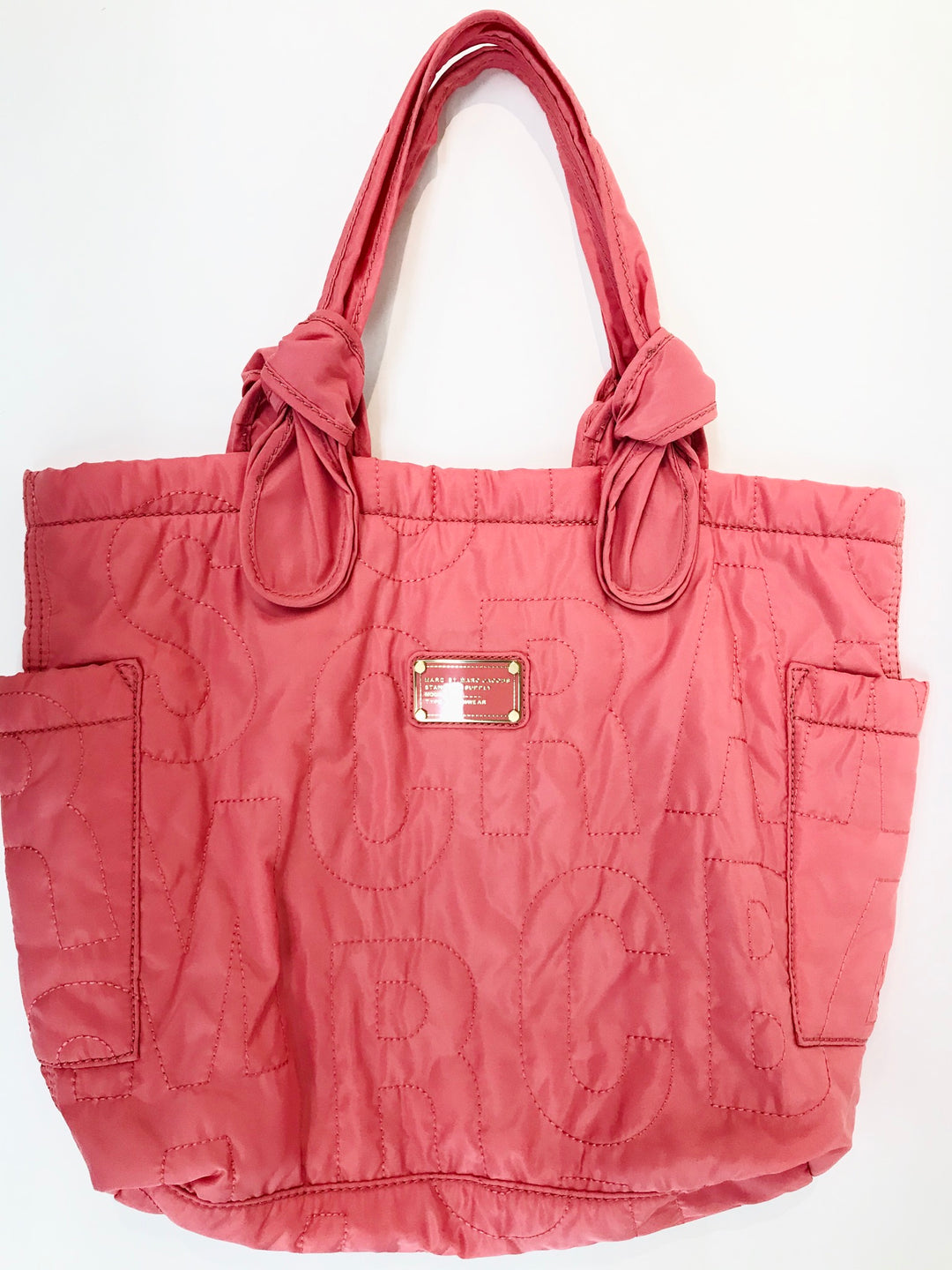 Primary Photo - BRAND: MARC BY MARC JACOBS <BR>STYLE: HANDBAG DESIGNER <BR>COLOR: PEACH <BR>SIZE: LARGE <BR>SKU: 262-26211-123319<BR>-NEW WITHOUT TAG-<BR>DESIGNER BRAND-FINAL SALE<BR>