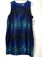 Primary Photo - BRAND: MICHAEL KORS <BR>STYLE: DRESS SHORT SLEEVELESS <BR>COLOR: BLUES<BR>SIZE: XXL/16<BR>SKU: 262-26275-66210