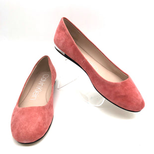 Primary Photo - BRAND: CALVIN KLEIN STYLE: SHOES FLATS COLOR: PEACH PINK SIZE: 10 SKU: 262-26275-75602AS IS