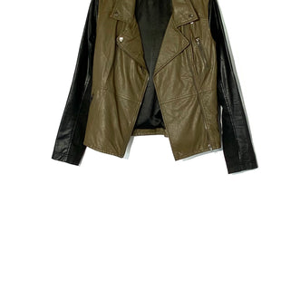 Primary Photo - BRAND: BLANKNYC STYLE: JACKET OUTDOOR COLOR: OLIVE SIZE: S SKU: 262-26275-72639FAUX LEATHER LOOK