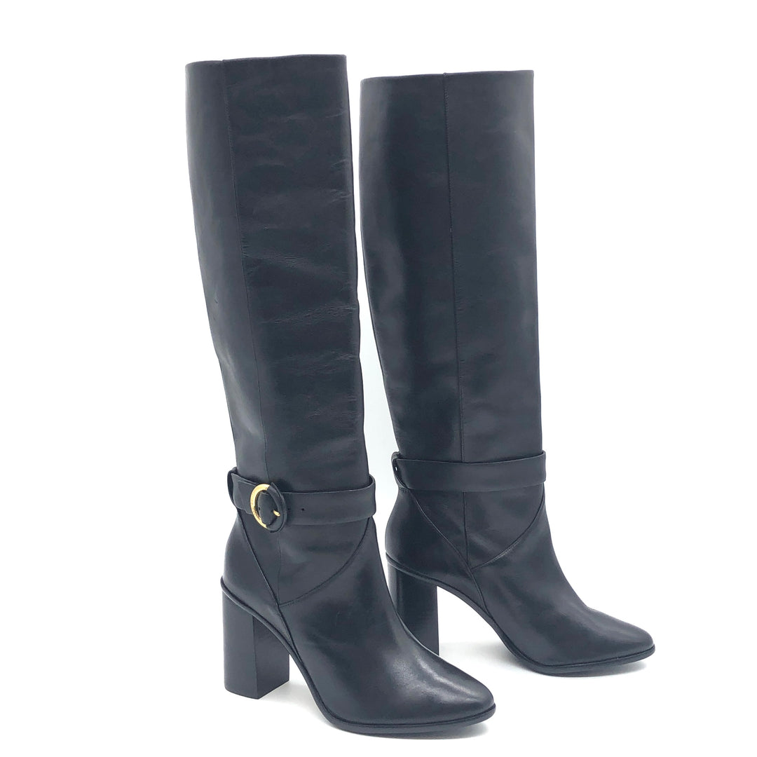 Primary Photo - BRAND: TED BAKER <BR>STYLE: BOOTS KNEE <BR>COLOR: BLACK <BR>SIZE: 8.5 | 38.5<BR>SKU: 262-26275-75413<BR>IN GREAT SHAPE AND CONDITION