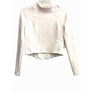 Primary Photo - BRAND: LULULEMON STYLE: ATHLETIC TOP COLOR: WHITE SIZE: 4 OTHER INFO:SKU: 262-26211-146017GENTLEST PILLING AND SPOTS AS ISCROPPED TOP STYLE DESIGNER FINAL