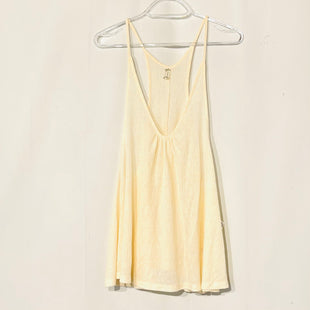 Primary Photo - BRAND: FREE PEOPLE STYLE: TOP SLEEVELESS COLOR: CREAM SIZE: L SKU: 262-26275-73679