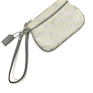 Primary Photo - BRAND: COACH STYLE: WRISTLET COLOR: SILVER SKU: 262-26275-62470WEAR SHOWS - AS IS