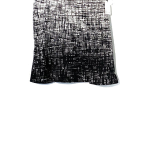Primary Photo - BRAND: CALVIN KLEIN STYLE: SKIRT COLOR: BLACK WHITE SIZE: M /10SKU: 262-26275-72614