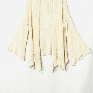 Primary Photo - BRAND: FREE PEOPLE STYLE: SWEATER CARDIGAN LIGHTWEIGHT COLOR: CREAM SIZE: S SKU: 262-26275-73429