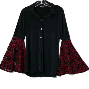 Primary Photo - BRAND:    JULIAN CHANGSTYLE: TOP LONG SLEEVE COLOR: RED BLACK SIZE: M SKU: 262-26275-76332