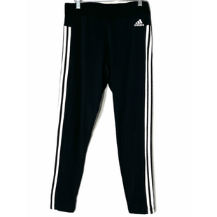 Primary Photo - BRAND: ADIDAS STYLE: ATHLETIC PANTS COLOR: STRIPED BLACKSIZE: L SKU: 262-262101-3063