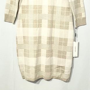Primary Photo - BRAND: CALVIN KLEIN STYLE: DRESS SHORT LONG SLEEVE COLOR: PLAID SIZE: L SKU: 262-26275-68119